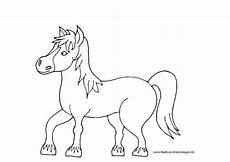 Ausmalbilder Bauernhof Mit Pferden Pferd Mit M 228 Hne Nadines Ausmalbilder