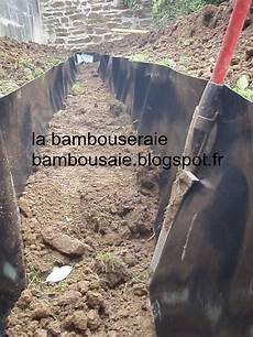 La Bambouseraie Pose D Une Barri 232 Re Anti Rhizome
