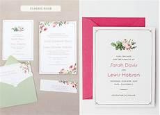 Lucky In Wedding Invitations