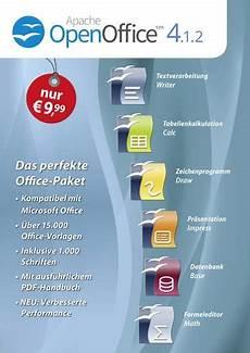 Office Size Paket markt technik openoffice 4 1 2 vollversion 1 lizenz