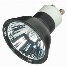 satco s4184 50w 120v mr16 gu10 flood black back halogen light bulb walmart com