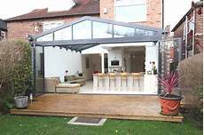 modern glass house open landscaping decorations contemporary conservatory ideas open plan extension for