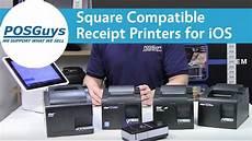 square compatible receipt printers for ios posguys com youtube