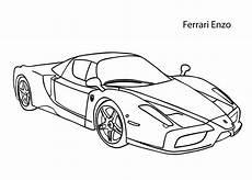 car enzo coloring page cool car printable