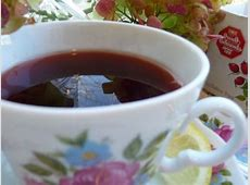 rosehip tea with cranapple lemon   honey  hagebutten tee_image