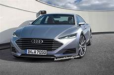 audi a7 neu dive the 2017 audi a7 gets squeezed into a new shape