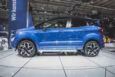 ford ecosport 2017 im test facelift sitzprobe