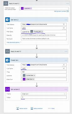 sharepoint list id column sum a column from one sharepoint list with a condi power platform community