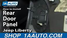 how to install repair replace rear door panel buick lesabre 00 05 1aauto com youtube how to install replace remove rear door panel 2002 07 jeep liberty youtube