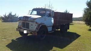1969 Ford N600 V8 2 Ton Truck W/Grain Dump Bed For Sale