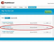 hca healthstream login from home how to get to the mandatory compliance training