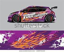 Find Car Wrap Decal Graphics Abstract Racing Stock Images