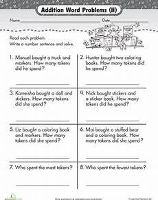 addition word problem worksheets for kindergarten 11338 wordy word problems addition 2 worksheet education