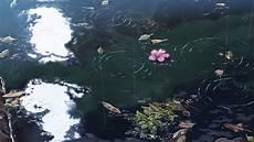 il giardino delle parole デスクトップ壁紙 反射 水中 言葉の庭 アニメーション 新海誠 波紋 生物学 スクリーンショット