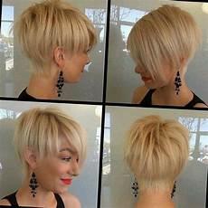 charmante kurzhaarfrisuren f 252 r frauen mit blonden haaren