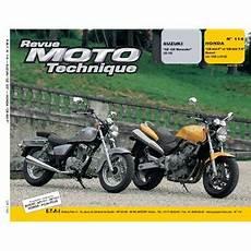 Revue Moto Technique 114 2 Suzuki Gz125 Marauder Honda Cb