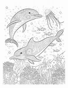Ausmalbilder Tiere Pdf Delfine Ausmalbilder Ausmalbilder Ausmalen Mandala