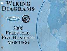 online service manuals 2006 ford five hundred electronic valve timing 2006 ford freestyle five hundred mercury montego wiring diagrams