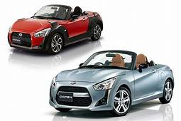 Passenger Vehicle DAIHATSU Copen  Complete List Of The