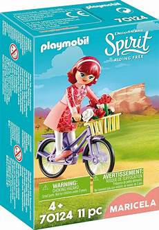 playmobil spirit 70124 maricela with bicycle toys n tuck