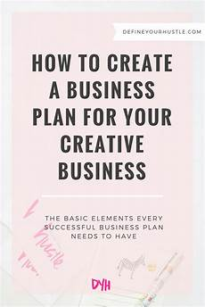 How To Make A Business How To Create A Business Plan For Your Creative Business
