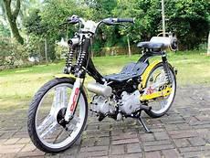 Modifikasi Smash 2004 by Suzuki Smash 04 Tangerang Modif Ontel Yang Tak