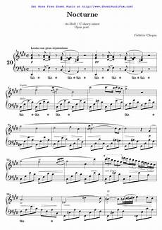 free sheet music for nocturne in c sharp minor b 49 chopin fr 233 d 233 ric by fr 233 d 233 ric chopin