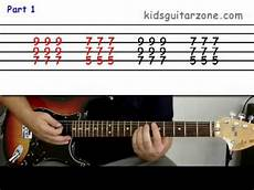Guitar Lesson 9 Beginner How To Play Beat It Using