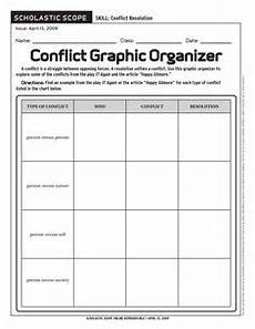 what type of conflict worksheet englishlinx com board types of conflict conflict in