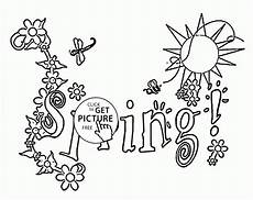 season coloring page for seasons coloring