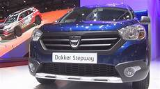 dacia dokker stepway tce 115 dacia dokker stepway tce 115 start stop 2016 exterior and interior in 3d