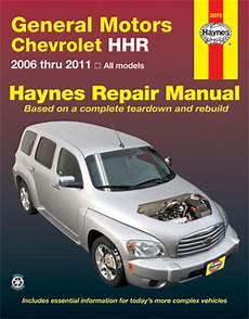 auto repair manual free download 2006 chevrolet hhr regenerative braking chevrolet hhr haynes repair manual 2006 2011 hay38070