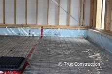dalle beton pour garage dalle de b 233 ton du garage