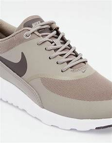 nike nike air max thea grey trainers at asos