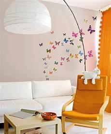 Wandtattoo Kinderzimmer Schmetterlinge Garten Ideen Diy