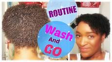 ma routine wash and go youtube