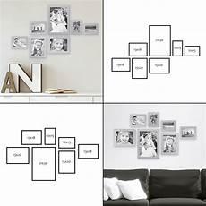 treppenhaus bilder aufhängen 7er bilderrahmen set moderne wandgestaltung bilderw 228 nde