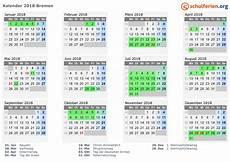 Kalender 2018 Mit Feiertagen Und Schulferien