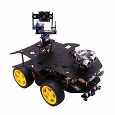 4wd Kit Voiture Robot Vid 233 O Sans Fil Wifi Pour Raspberry
