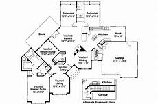 ranch house plans with walkout basement 3 bedroom ranch house plans with walkout basement for