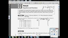5 1 b equations functions linear how to use input