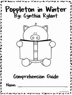 poppleton in winter free worksheets 20163 poppleton in winter book study packet by chelsey west tpt