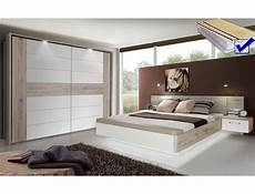 Schlafzimmer Weiß Komplett - schlafzimmer rubio 20b sandeiche wei 223 hochglanz bett