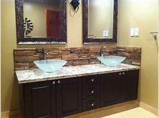 Bathroom Backsplash   Mediterranean   Bathroom   Calgary