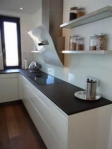 Küche Weiß Modern - grifflos wei 223 mit grauwacke modern k 252 che k 246 ln