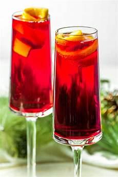 poinsettia cocktail homemade hooplah