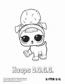 hoops dogg coloring page lotta lol lol puppen