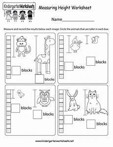 free printable measurement worksheets for grade 2007 measuring height worksheet free kindergarten math worksheet for