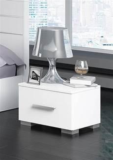 chevet design blanc table de chevet design laque blanc