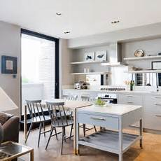 Kitchen Ideas Notting Hill by Penthouse Notting Hill Contemporary Kitchen